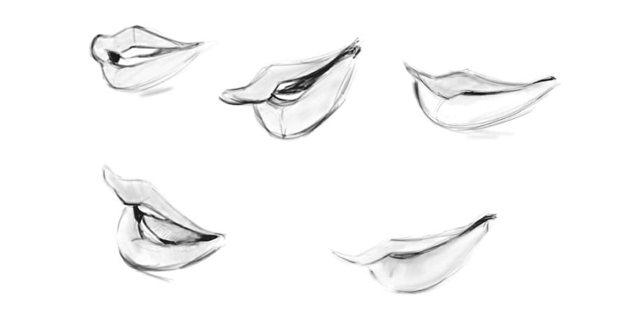 How To Draw Lips Every Angle Know The Shapes Step By Step Gvaat S Workshop